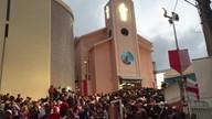 Fiéis celebram o dia de São Jorge