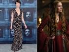 'Game of Thrones': veja o estilo dos atores dentro e fora da série de TV