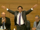 Gilson de Souza toma posse como prefeito de Franca durante cerimônia