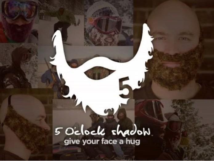 5 OClock Shadow é uma barba para ser usada como acessório no inverno (Foto: Divulgação/Kickstarter)