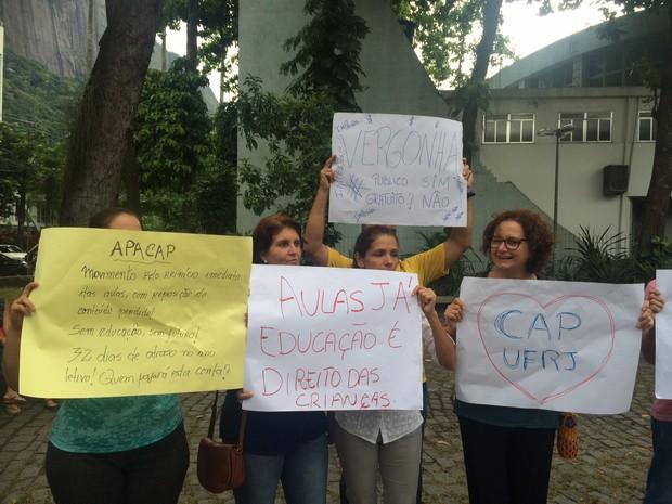 Aulas do Cap da UFRJ não tem data para começar (Foto: Matheus Rodrigues/G1)
