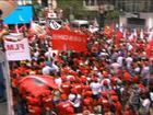 Sindicalistas e movimentos sociais vão às ruas em dez capitais e no DF