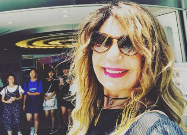 Elba Ramalho passa dias em Tóquio, no Japão (Foto: Reprodução/Instagram)