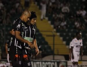 Julio Cesar, atacante do Figueirense (Foto: Luiz Henrique, divulgação / FFC)