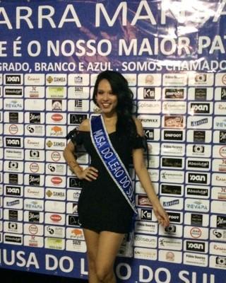 Gabriela Monsores é eleita a Musa do Barra Mansa 2016 (Foto: Vinícius Lima/GloboEsporte.com)