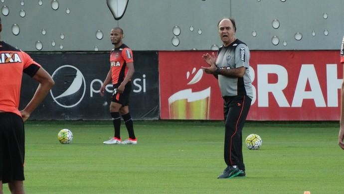 Marcelo Oliveira, técnico do Atlético-MG (Foto: Fernando Martins Y Miguel)