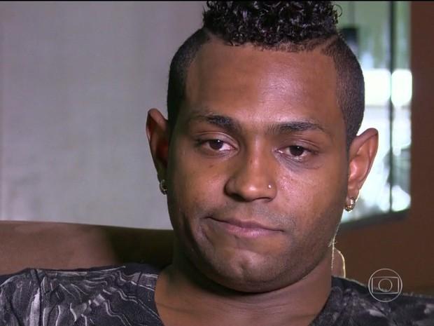 Atacante Jobson, ex-Botafogo, é preso acusado de estupro (Gnews) (Foto: Reprodução GloboNews)