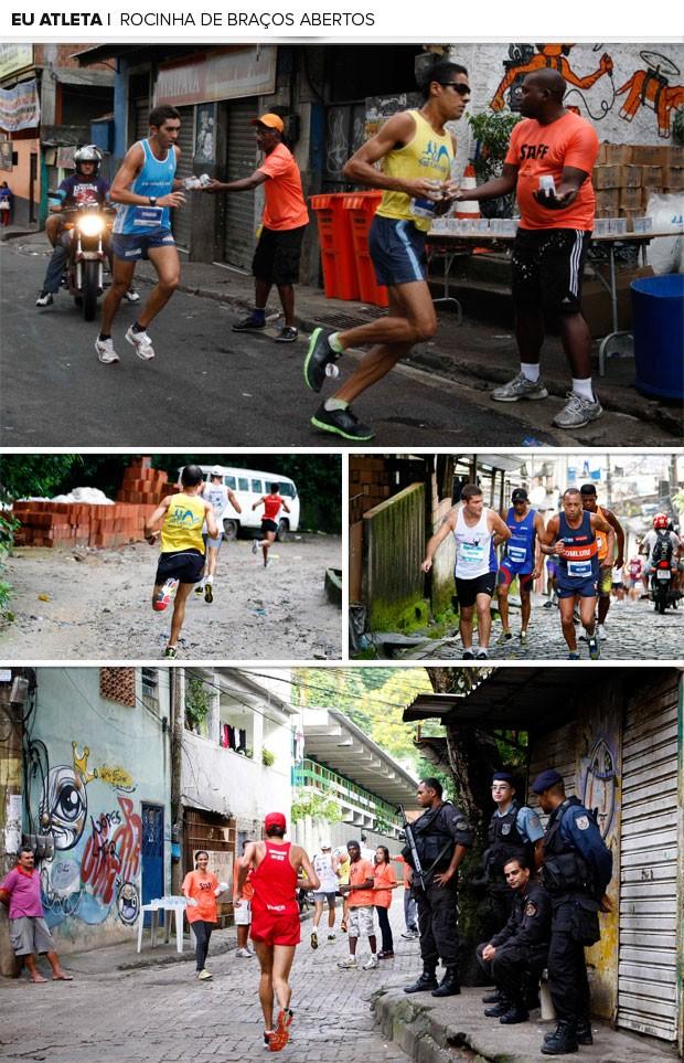 MOSAICO - prova Rocinha de Braços Abertos (Foto: Marcelinho de Jesus / Globoesporte.com)