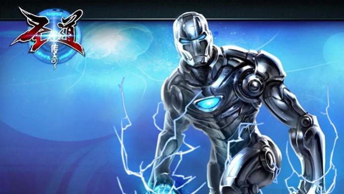 Homem de Ferro aparece no jogo chinês The Legend of Sheng Dao (Foto: Divulgação)