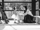 Mariana Belém e a filha, Laura, brincam juntas: 'Coração fora do peito'