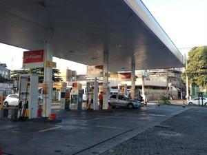 Posto Shell, na Federação (Foto: Maiana Belo / G1)