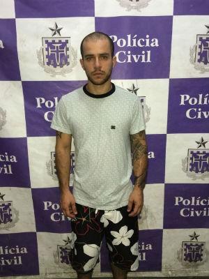 Willy Gorayeb Liger foi preso na casa de familiares, na Bahia (Foto: Divulgação/Polícia Civil)