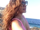 Gyselle Soares mostra corpão na Grécia: 'Recarregar energias'