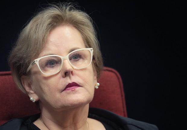 A ministra do Supremo Tribunal Federal (STF), Rosa Weber , durante sessão (Foto: Nelson Jr./SCO/STF)