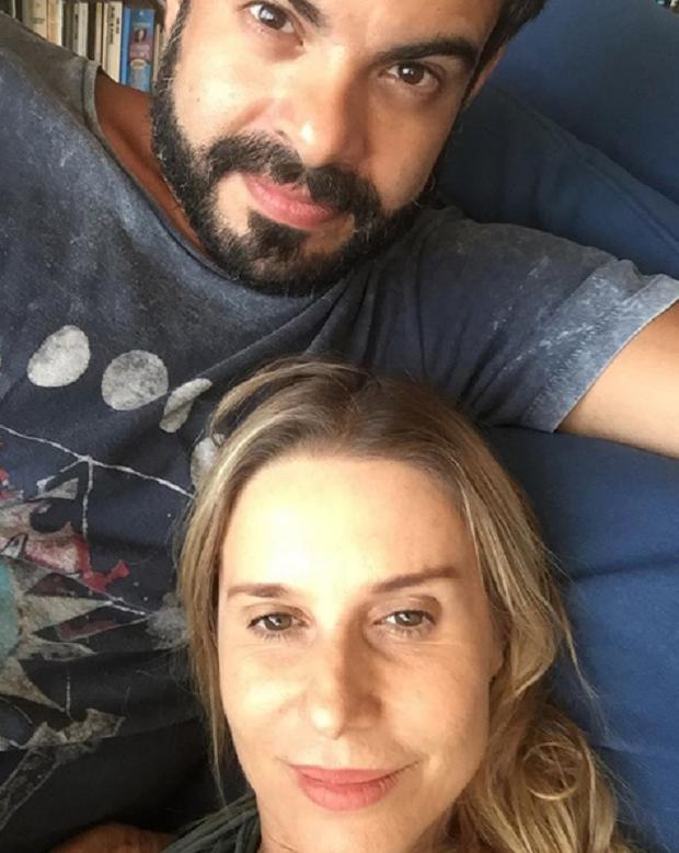 Paula Burlamaqui e Edu Reyes (Foto: Reprodução/Instagram)