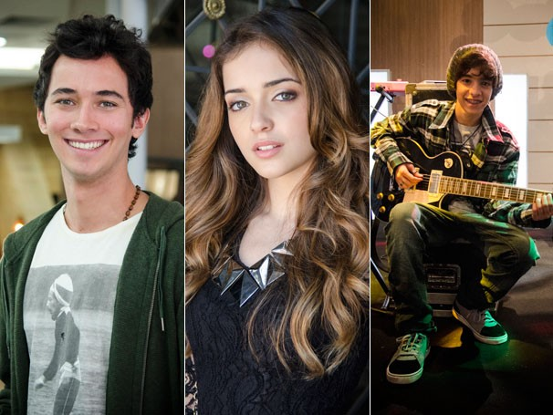 Gabriel Falcão, Anna Rita Cerqueira e Matheus Costa são os novos talentos da próxima temporada de Malhação (Foto: Divulgação/TV Globo)