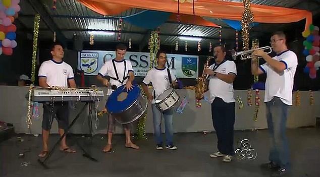 Uma confraternização que virou baile de carnaval e tradição em Manaus (Foto: Bom dia Amazônia)