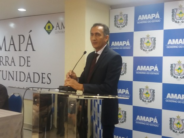 Waldez Góes PDT Amapá  (Foto: Abinoan Santiago/G1)