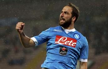 Agente de Higuaín diz que jogador não renovará contrato com o Napoli
