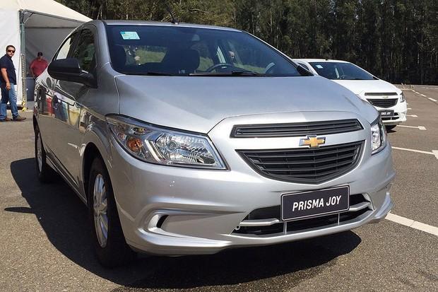 Chevrolet Prisma Joy 2016 (Foto: Michelle Ferreira / Autoesporte)