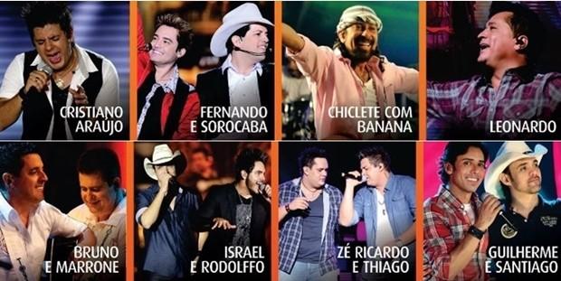 Goiás é Show vai reunir 8 atrações em 15 horas de show (Foto: Divulgação/Goiás é Show)