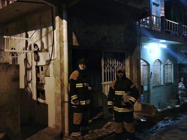 Chamas foram controladas por volta das 19h  (Foto: Divulgação/Corpo de Bombeiros)