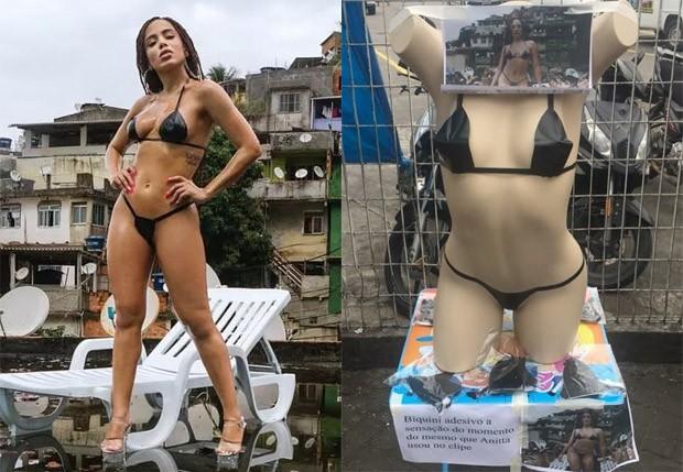 Look de Anitta em Vai, Malandra vira kit de compras (Foto: Reprodução)