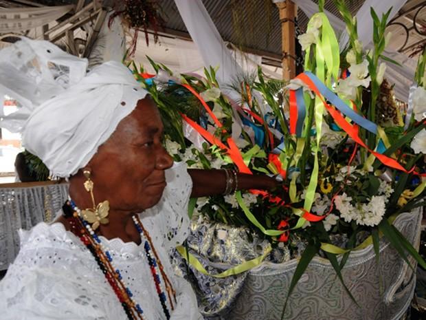 festa bembé do mercado; bahia (Foto: Lázaro Menezes/Divulgação)