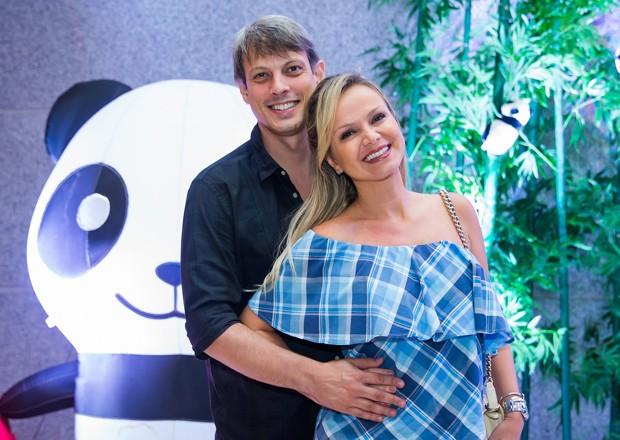 Eliana e Adriano Ricco (Foto: Manuela Scarpa/Brazil News)