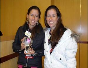 Gabriela e Daniela Arantes, portadoras de diabetes - Eu atleta (Foto: Arquivo Pessoal)