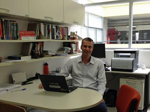 Carlos Alberto Kamienski  tem doutorado em ciência da computação e dá aulas na Federal do ABC (Foto: Divulgação)