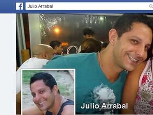 Julio Cesar Arrabal foi encontrado enforcado em casa, em Sumaré (Foto: Reprodução / Facebook)