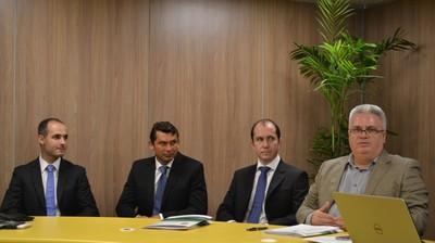 Danilo Manis, Wagner Reway, Eduardo Cruz e Sérgio Corrêa (Foto: Divulgação/CBF)