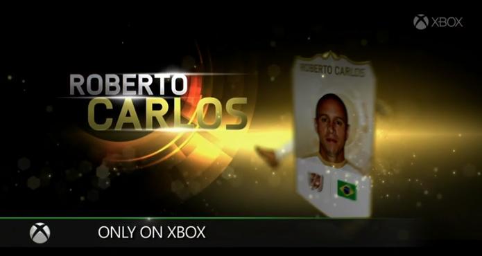 Roberto Carlos estará o modo Ultimate Team de Fifa 15 para Xbox One (Foto: Reprodução / Youtube)