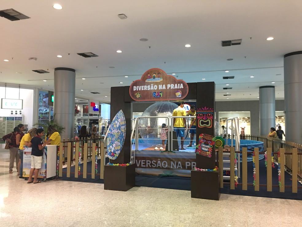 Atração PlayBall está em cartaz no Shopping Parangaba (Foto: Shopping Parangaba/Divulgação)