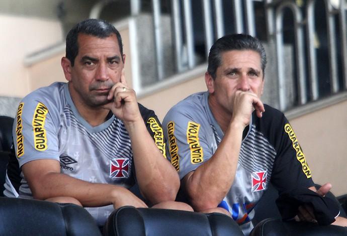 Jorginho e Zinho, Vasco (Foto: Paulo Fernandes/Vasco.com.br)