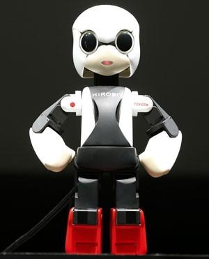 Kirobo é um robô especializado em comunicação que irá conversar com astronautas no espaço (Foto: Shizuo Kambayashi/AP)