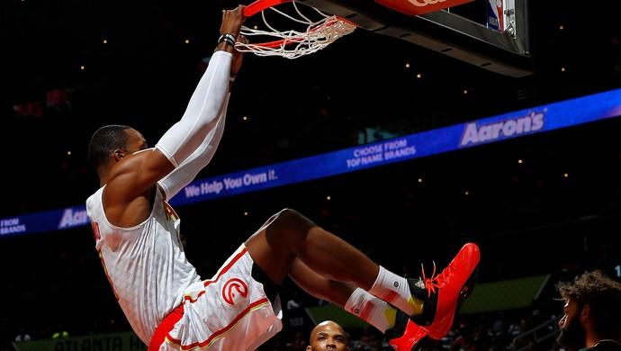 Atlanta Hawks vs. Chicago Bulls NBA basquete (Foto: Kevin C. Cox/Getty Images)