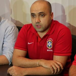 Diretor de competições da CBF Manoel Flores Manaus (Foto: Matheus Castro)