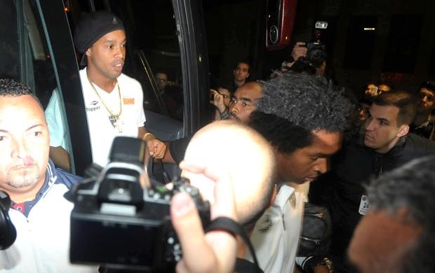 Ronaldinho, Flamengo e Atlético-mg (Foto: André Durão / Globoesporte.com)