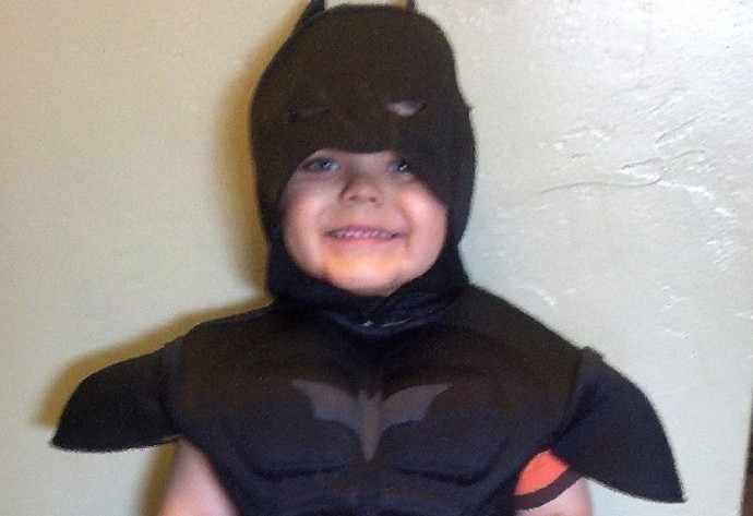 manino batman criança (Foto: Reprodução)