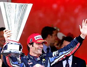 formula 1 - webber comemora em mônaco (Foto: Reuters)