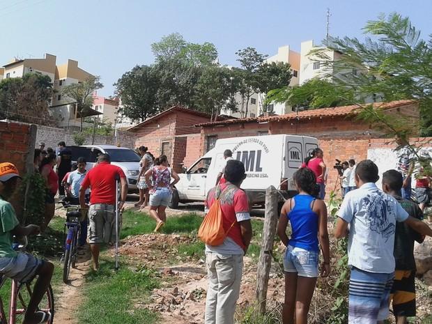 Caçador atira e assassina jovem em Teresina (Foto: Catarina Costa/G1)