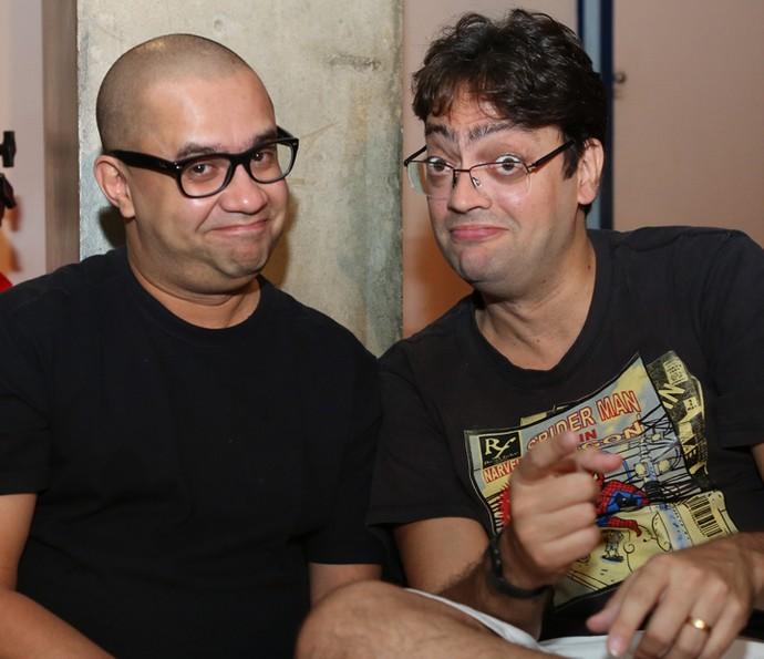 Welder Rodrigues e Fernando Caruso  (Foto: Fabiano Battaglin / Gshow)
