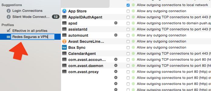 Nomeie o perfil que você vai usar para redes seguras e para VPN (Foto: Reprodução/Paulo Alves)