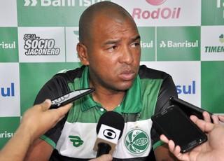 Paulo Cesar Parente PC técnico Juventude (Foto: Arthur Dallegrave/Juventude)