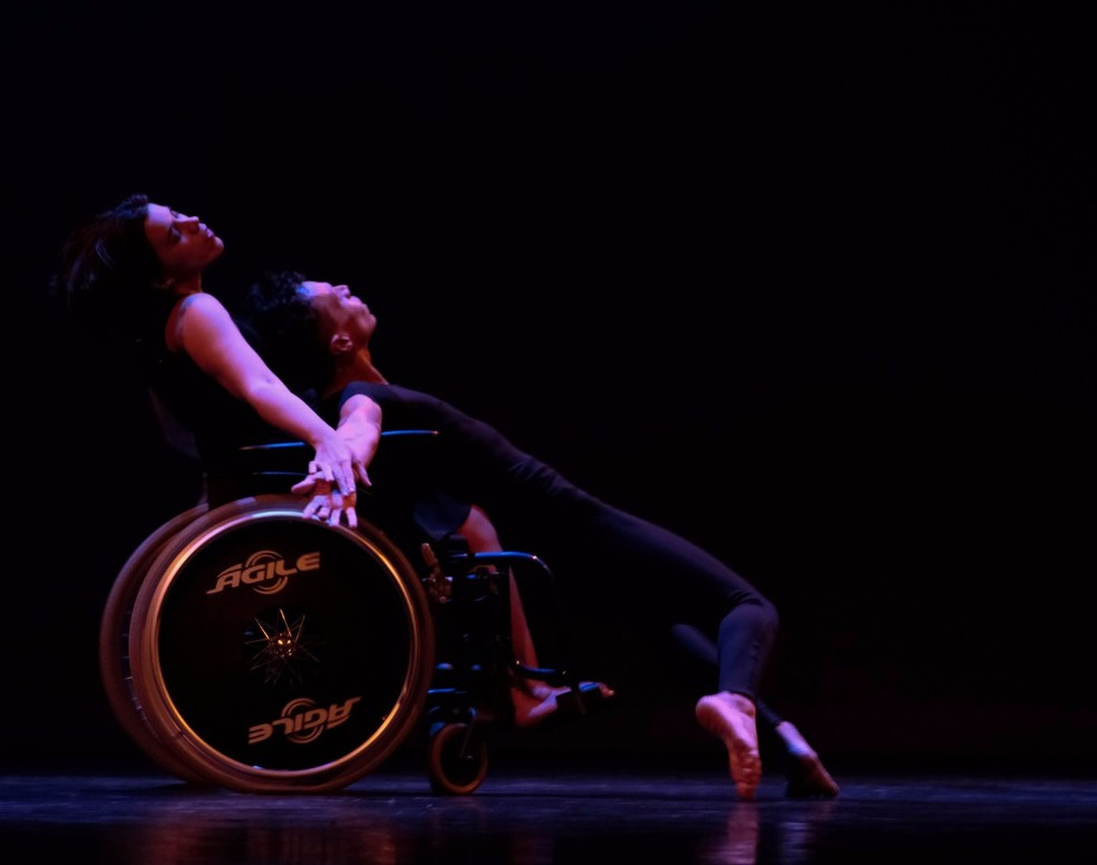 Bailarina se apresentou neste domingo (21) no palco da Virada Cultural de São Paulo (Foto: Divulgação)