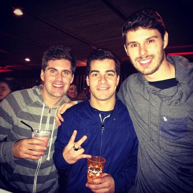 Thiago Gagliasso, Thiago Martins e Bruno Rezende (Foto: Instagram / Reprodução)