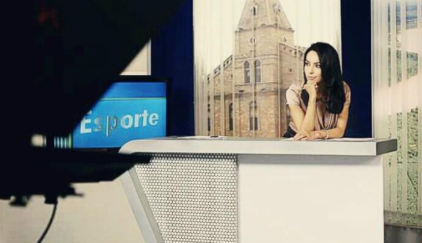 Maira Botelho, apresentadora MG Inter TV 1ª Edição (Foto: Rafael Gamboa/Inter TV Grande Minas)