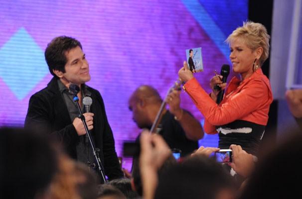 Daniel é uma das atrações do TV Xuxa (Foto: TV GLOBO / Matheus Cabral)